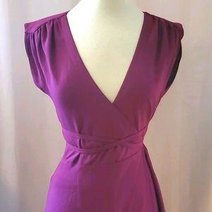 Yumi kim plum long dress NWOT szS [824]